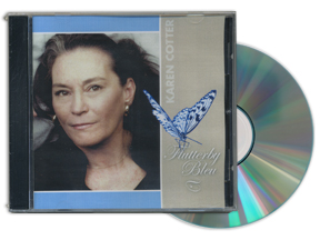 Flutterby Bleu CD cover